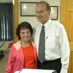 Framingham Chiropractor Dr Garian Helping a patient_Theresa